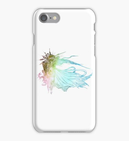 °FINAL FANTASY° Final Fantasy XV Rainbow Logo iPhone Case/Skin