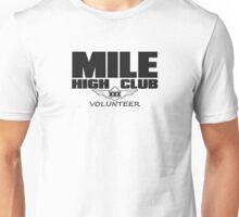 Mile High Club Volunteer Unisex T-Shirt