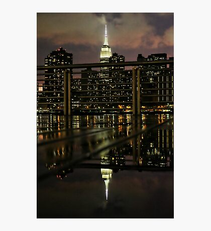 Double trouble - the Empire State Building Photographic Print