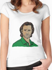 Sam Winchester - Supernatural Women's Fitted Scoop T-Shirt