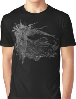 °FINAL FANTASY° Final Fantasy XV B&W Logo Graphic T-Shirt