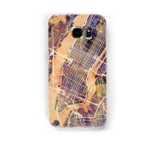 New York City Street Map Samsung Galaxy Case/Skin