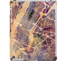 New York City Street Map iPad Case/Skin