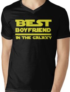 Best Boyfriend in the Galaxy Mens V-Neck T-Shirt