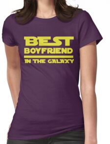 Best Boyfriend in the Galaxy Womens Fitted T-Shirt