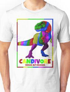 CANDIVORE. (vicious but delicious) Unisex T-Shirt