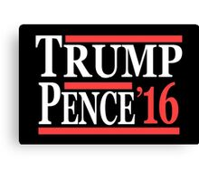 trump pence  Canvas Print