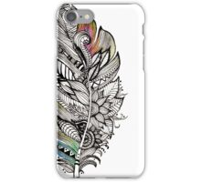 Floral Feather iPhone Case/Skin
