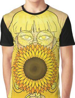 Sunflower Girl Graphic T-Shirt