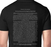1916 Proclamation of the Irish Republic 2 Unisex T-Shirt