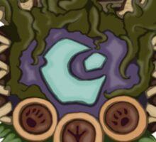 Druid Crest Sticker