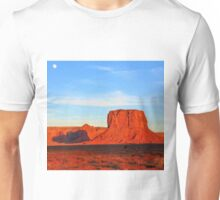 MONUMENT VALLEY USA WITH HORSE AND MOON Unisex T-Shirt