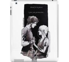 Julian And Emma  iPad Case/Skin
