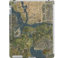 Grand Theft Auto San Andreas Aerial Map iPad Case/Skin