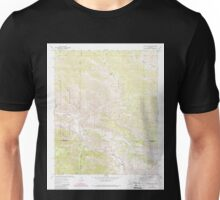 USGS TOPO Map California CA Catclaw Flat 289048 1972 24000 geo Unisex T-Shirt