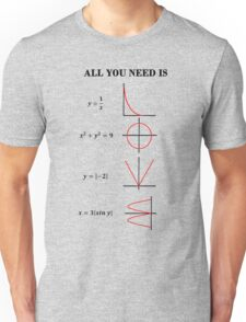 All You Need is Formulae! Unisex T-Shirt