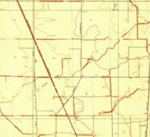 USGS TOPO Map California CA Castle 295982 1910 31680 geo Sticker