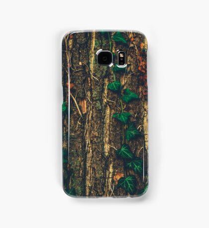 Ivy Climbing Tree Bark Samsung Galaxy Case/Skin