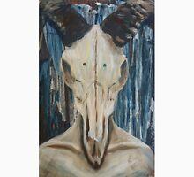 Acrylic Rams Skull Painting Unisex T-Shirt
