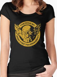New Heihachi Mishima Women's Fitted Scoop T-Shirt
