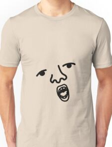 Face of Your Stomach (open) Unisex T-Shirt
