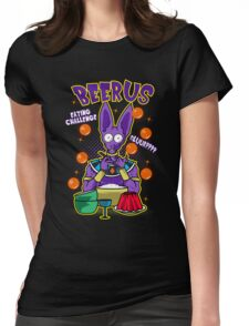 Beerus Eating Challenge Womens Fitted T-Shirt