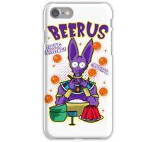 Beerus Eating Challenge iPhone Case/Skin