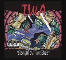 Teenage Mutant Ninja Turtles - T.W.A - Straight Out Tha Sewer T-Shirt