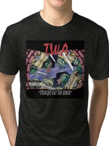 Teenage Mutant Ninja Turtles - T.W.A - Straight Out Tha Sewer Tri-blend T-Shirt