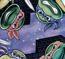 Teenage Mutant Ninja Turtles - T.W.A - Straight Out Tha Sewer Sticker