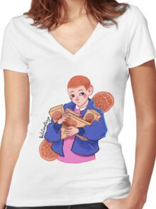 Eleven ~ Women's Fitted V-Neck T-Shirt