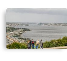 South Perth from King's Park, Western Australia Canvas Print