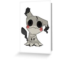Mimikkyu Greeting Card