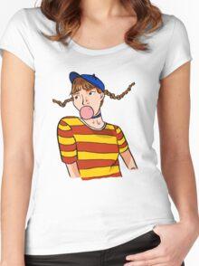 Dumb Dumb era Wendy Women's Fitted Scoop T-Shirt