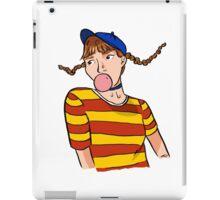 Dumb Dumb era Wendy iPad Case/Skin