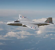 Canberra PR9 - 'Up where she belongs' by Pat Speirs