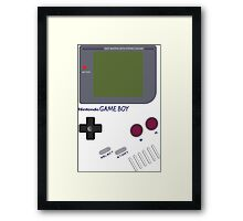 Boy I Love Games Framed Print