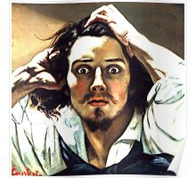 The Desperate Man (Self Portrait) Poster