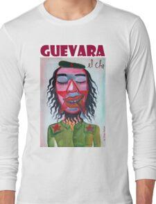 El Che Guevara by Diego Manuel Long Sleeve T-Shirt