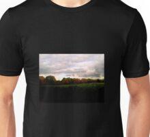 Autumn Sunset and Trees Unisex T-Shirt