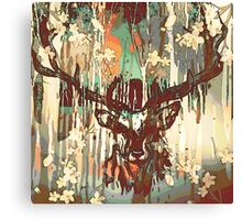 Dream Stag Canvas Print