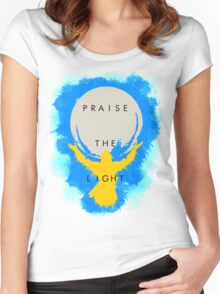 Praise the Light Women's Fitted Scoop T-Shirt