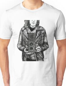 Leather Twin Lens Unisex T-Shirt