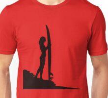 Surfing Silhouette Unisex T-Shirt