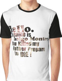 My Name is Inigo Montoya Graphic T-Shirt
