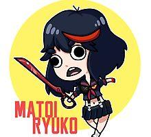 Matoi Ryuuko by hycyanic