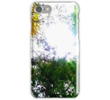 Heaven Through the Canopy  iPhone Case/Skin