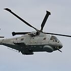 Royal Navy Merlin Helicopter by Jon Lees
