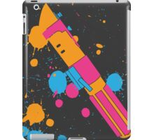 Darth Vader Lightsaber Paint Splatter (Full Color) iPad Case/Skin