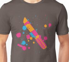 Darth Vader Lightsaber Paint Splatter (Full Color) Unisex T-Shirt